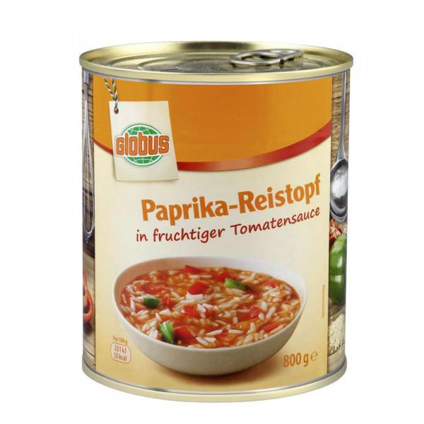 Paprika/Reis-Eintopf