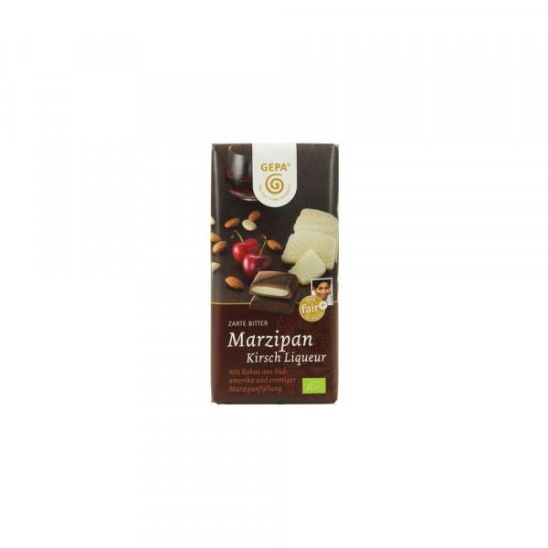 Bio Marzipan Kirsch-Liquer Schokolade
