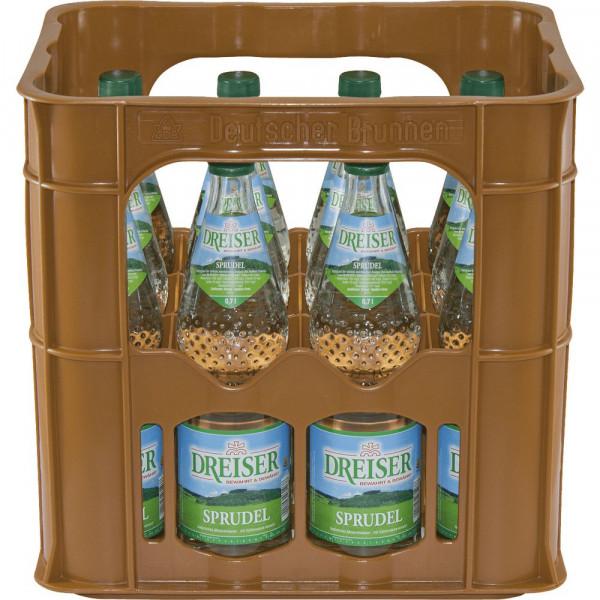 Mineralwasser, Sprudel (12 x 0.7 Liter)