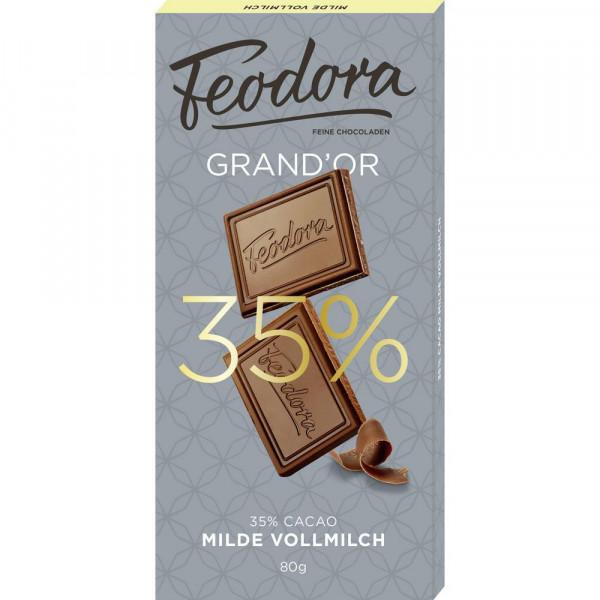 """Tafelschokolade """"Milde Vollmilch"""" 35%"""