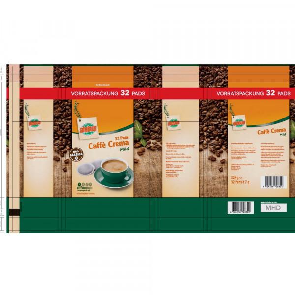 Kaffee-Pads mild