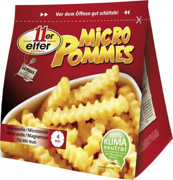 Microwellen Pommes Frites, tiefgekühlt