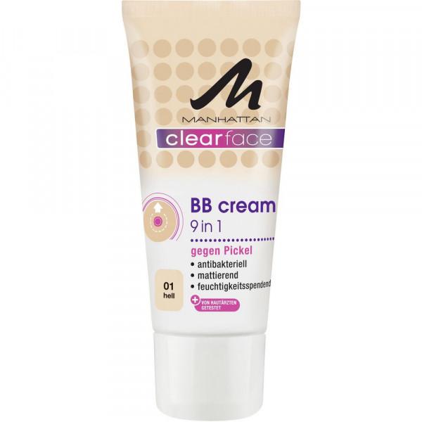 Clearface BB Cream gegen Pickel, Hell 1