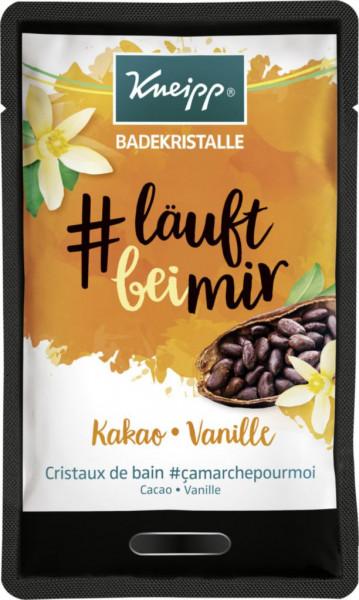 """Badezusatz """"läuftbeimir"""", Kakao/Vanille"""