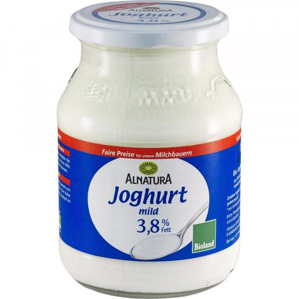 Bio Joghurt mild 3,8% Fett