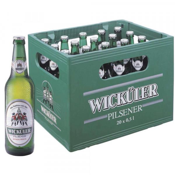 Pilsener Bier, würzig-frisch 4,9% (20 x 0.5 Liter)