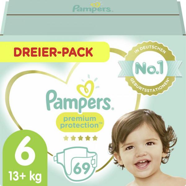 Windeln Premium Protection Gr. 6, 13-18kg Dreierpack