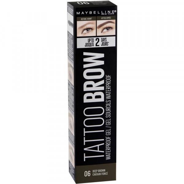Augenbrauenstift Tattoo Brow Waterproof Gel, Deep Brown 06