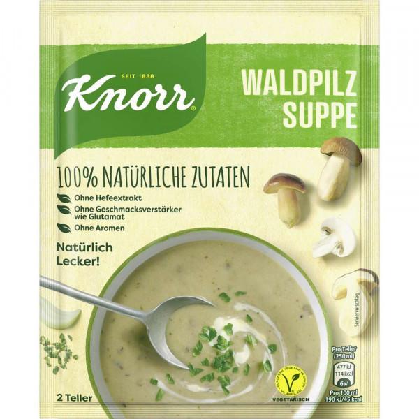 Natürlich Lecker Waldpilz Suppe