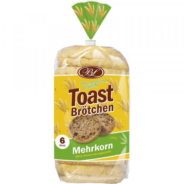 Toastbrötchen, Mehrkorn