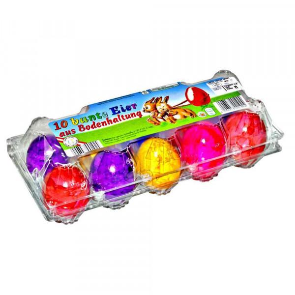 Bunte Eier aus Bodenhaltung, Gr. M