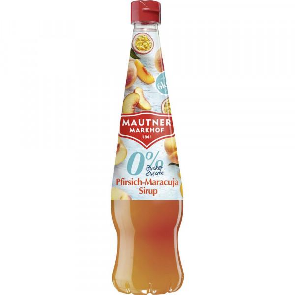 Pfirsich-Maracuja Sirup
