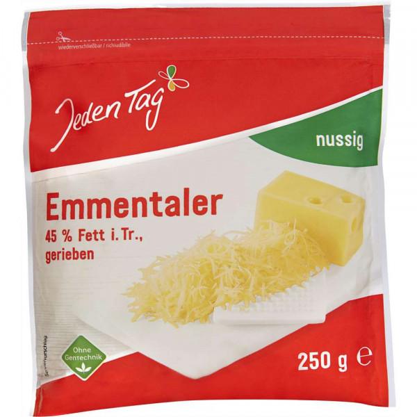 Emmentaler Käse, gerieben