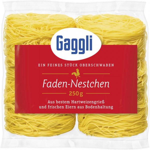 Faden-Nudelnester