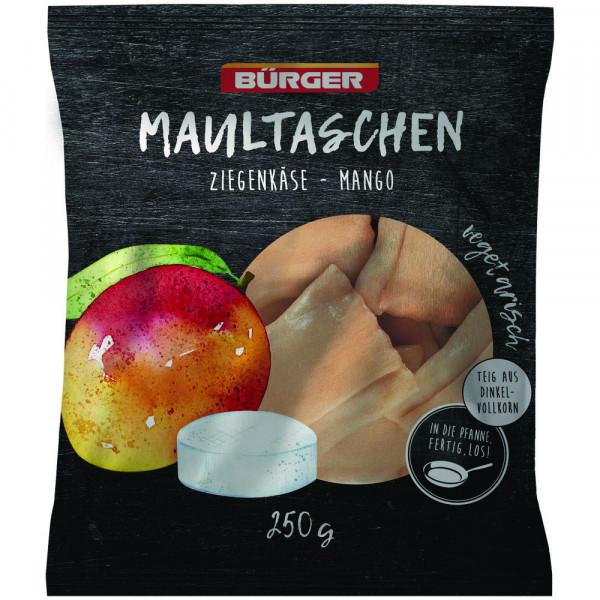 Ziegenkäse-Mango-Maultaschen