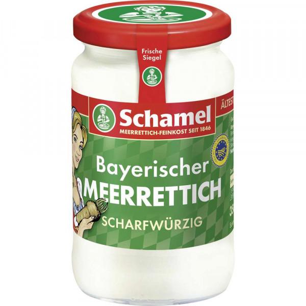 Bayerischer Meerettich, scharfwürzig