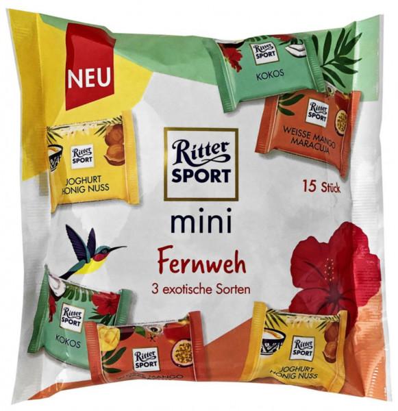 Tafelschokolade Mini's, Fernweh