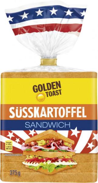 Süßkartoffel Sandwich-Brot