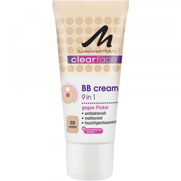 Clearface BB Cream gegen Pickel, Mittel 03