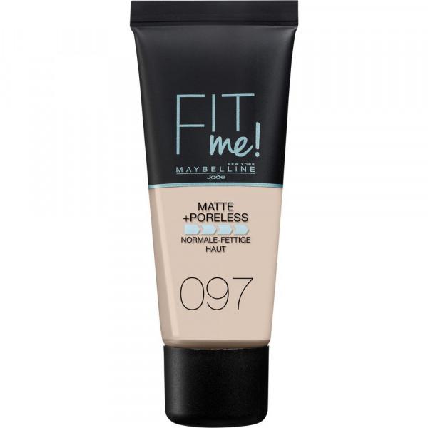 Make-Up Fit Me Matte + Poreless, Natural Porcelain 097