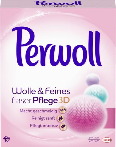 Feinwaschmittel Pulver, Wolle & Feines 3D