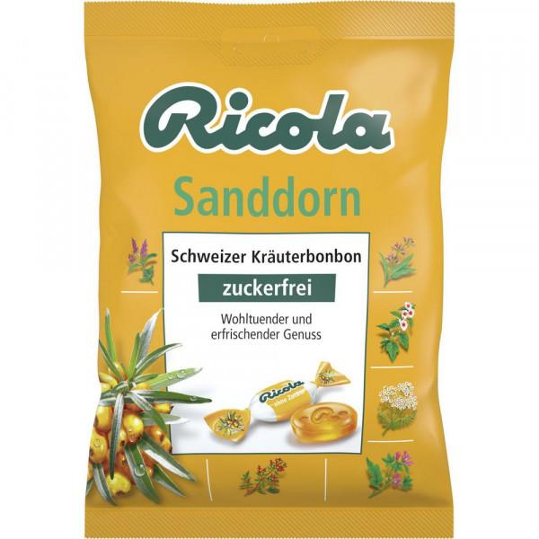 Bonbons Sanddorn, zuckerfrei