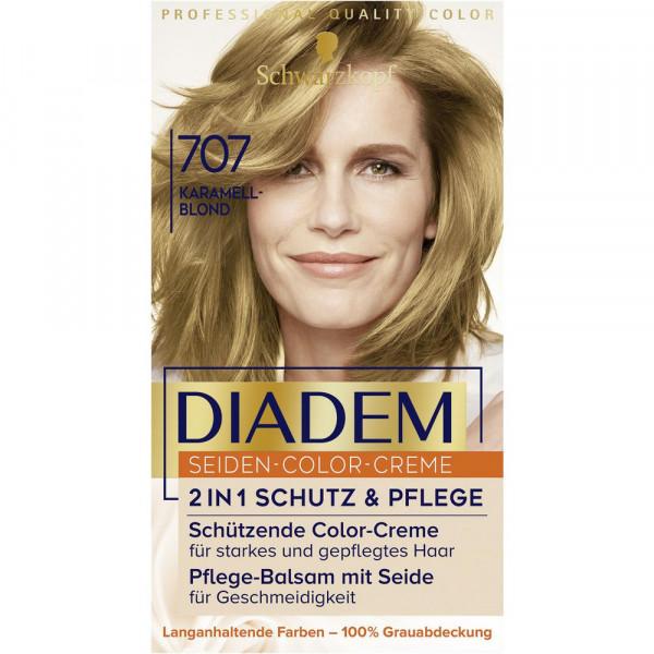 """Haarfarbe """"Diadem"""", 707 Karamellblond"""