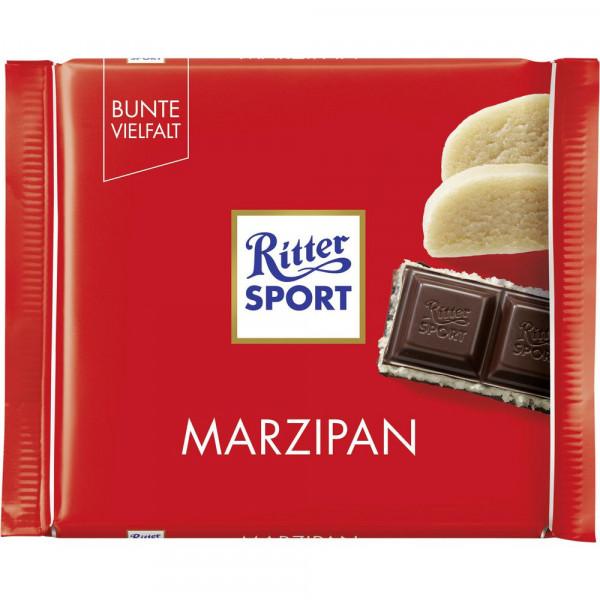 Tafelschokolade, Marzipan