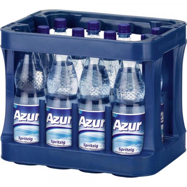 Mineralwasser, Spritzig (12 x 1 Liter)