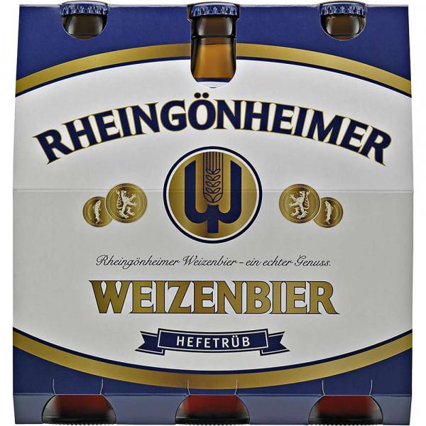 Weizenbier hefetrüb 5,2%(6 x 0.5 Liter)