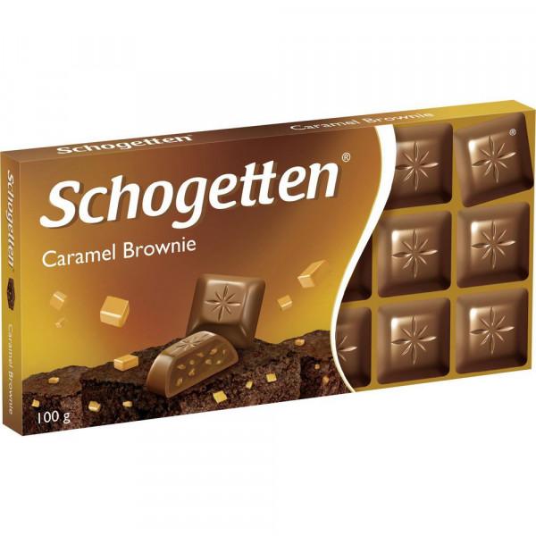 Tafelschokolade Schogetten, Caramel Brownie