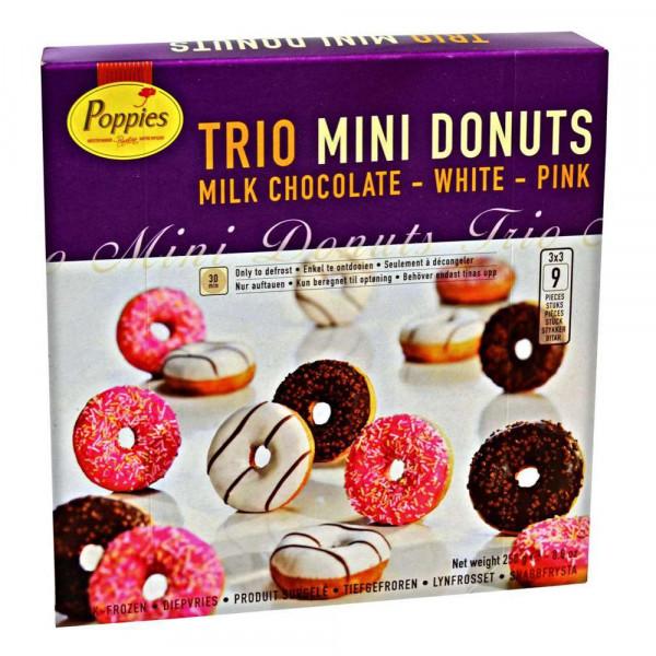 Trio Mini Donuts, tiefgekühlt
