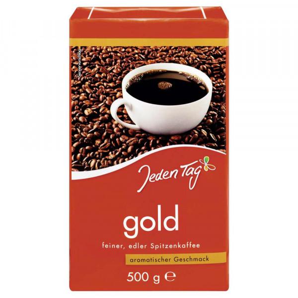 Kaffee Gold, gemahlen