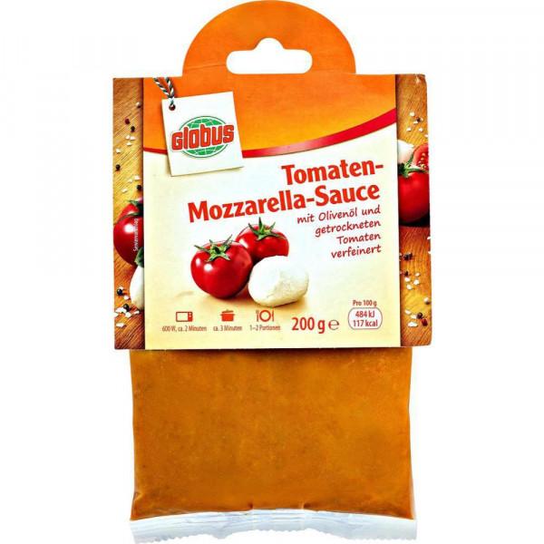 Tomaten-Mozzarella Sauce