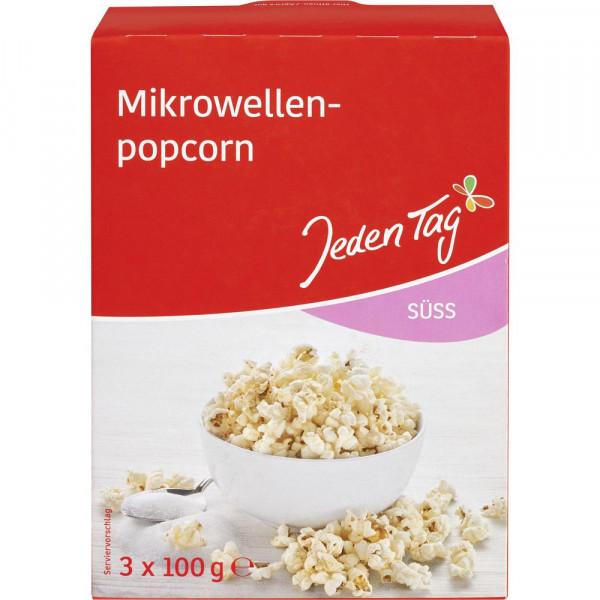Mikrowellen Popcorn, süß