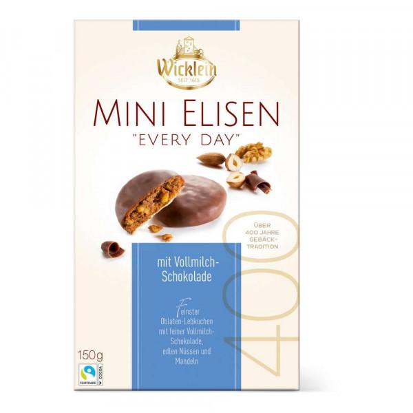 Lebkuchen Mini Elisen mit Schokolade