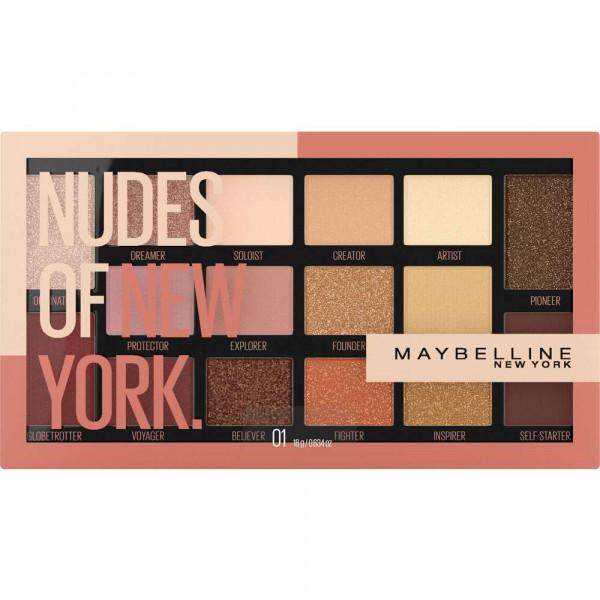 Lidschatten Palette Nudes of New York