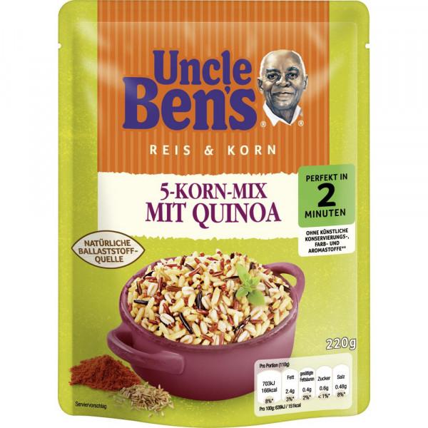 5-Korn-Mix mit Quinoa