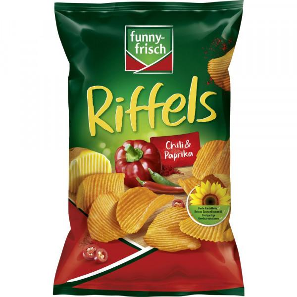 """Chips """"Riffels"""", Chili/Paprika"""