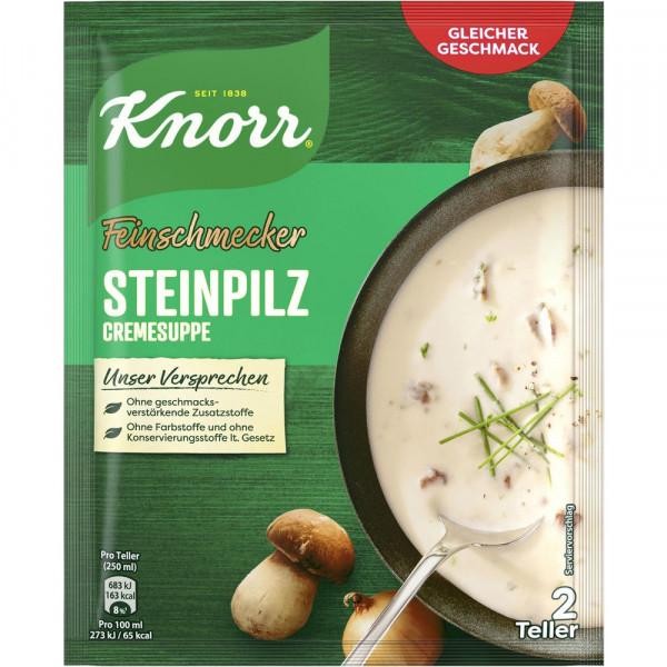 """Gewürzmischung """"Feinschmecker"""", Steinpilz-Cremesuppe"""