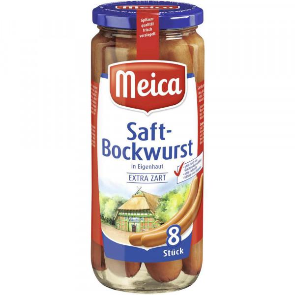 Saftbockwurst in Eigenhaut