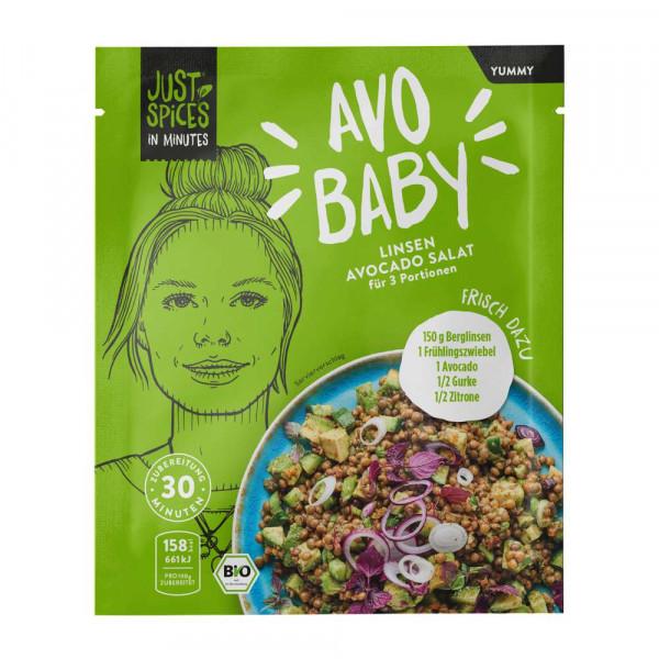 "Bio Gewürzmischung ""Avo Baby"", Linsen-Avocado Salat"