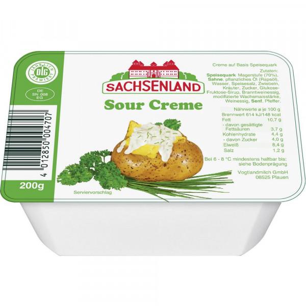 Sahnequark, Sour Cream