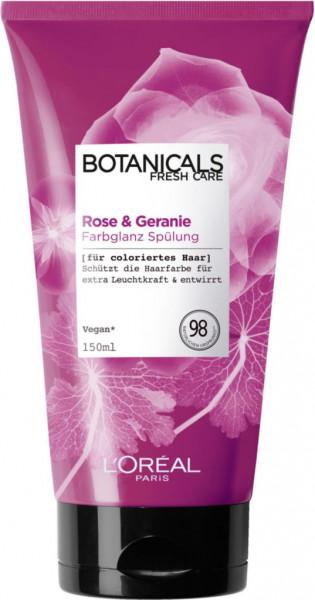 """Spülung """"Botanicals"""", Rose + Geranie"""