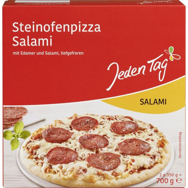 Steinofenpizza Salami, tiefgekühlt
