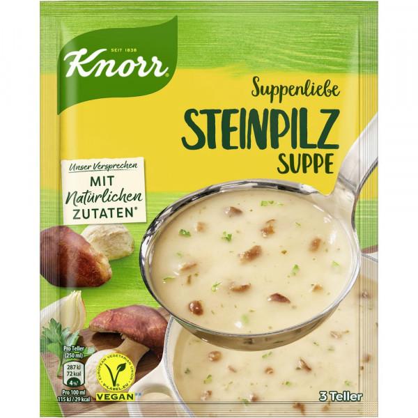 Suppenliebe Steinpilz Suppe