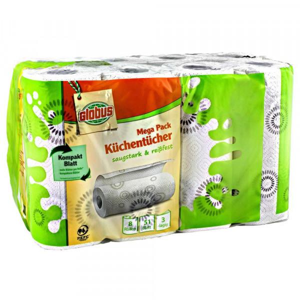 Küchentücher 3-lagig, Megapack