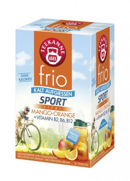 "Frio Sport, Eistee ""Mango-Orange"""