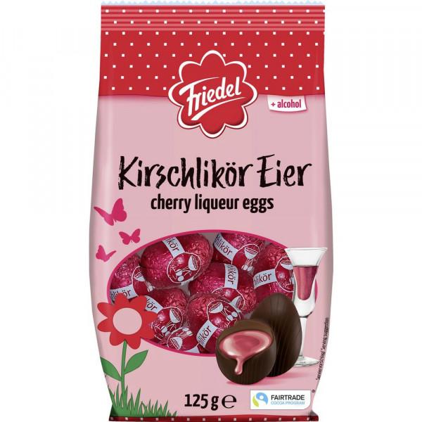 Schokoladeneier, Kirschlikör
