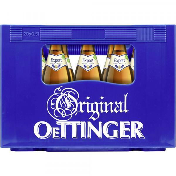 Export Bier 5,4% (20 x 0.5 Liter)
